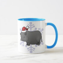 Christmas Miniature Pig Mug
