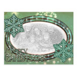 Christmas Mint  - Add YOUR OWN PHOTO Postcards
