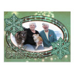Christmas Mint - Williams Foxy and Corky Photo 2 Post Card