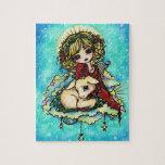 Christmas Miracle Fantasy Art Puzzle Hannah Lynn