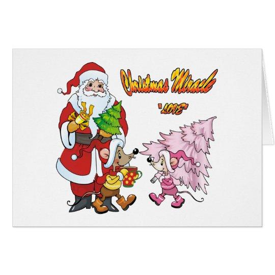 Christmas Miracle Love Card