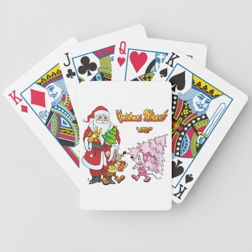 Christmas Miracle Love Poker Cards