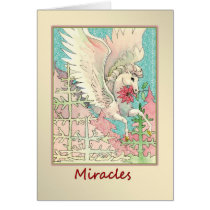 Christmas Miracles Flying Horse Card