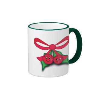 Christmas Mistletoe Mug