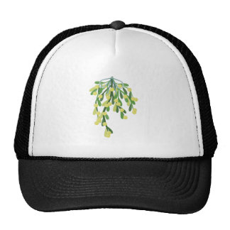 christmas mistletoe trucker hat