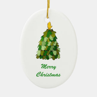 Christmas Mitten Tree  Ornament