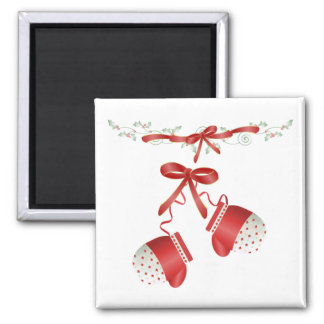 Christmas Mittens Magnet