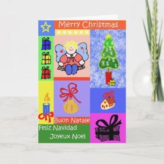Christmas Mix card card