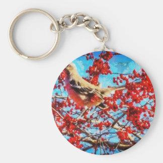 Christmas Mockingbird Keychain