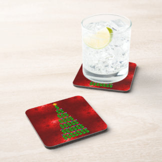Christmas Money Tree Beverage Coaster