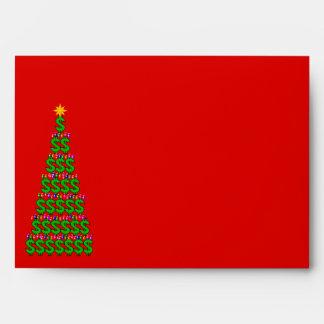Christmas Money Tree Envelope