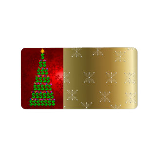 Christmas Money Tree Label