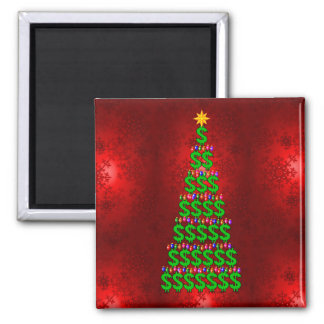 Christmas Money Tree Magnet