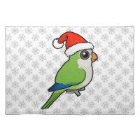 Monk Parakeet Christmas Placemat 20