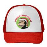 Christmas Monkey Hats