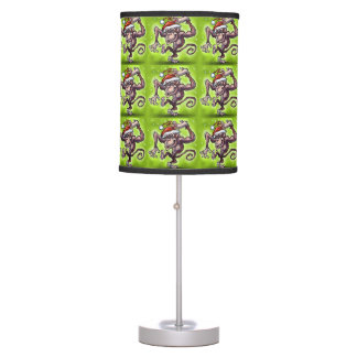 Christmas Monkey Table Lamp
