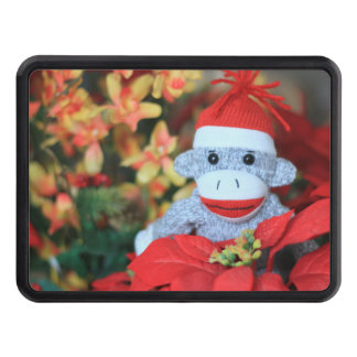 Christmas Monkey Trailer Hitch Covers