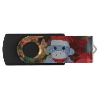 Christmas Monkey USB Flash Drive