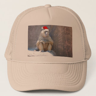 Christmas Monkeys and Baboons Trucker Hat