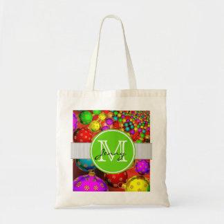 Christmas Monogrammed Bag
