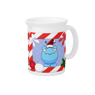 Christmas Monster Beverage Pitchers