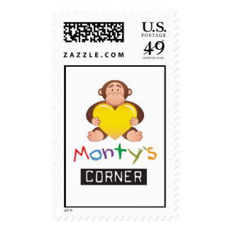 Christmas Monty Stamp