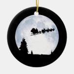 Christmas Moon Christmas Tree Ornaments