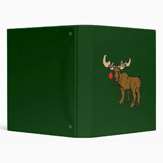 Christmas Moose Binder