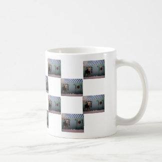 Christmas Moose Coffee Mug