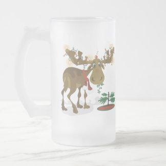 Christmas Moose Mug