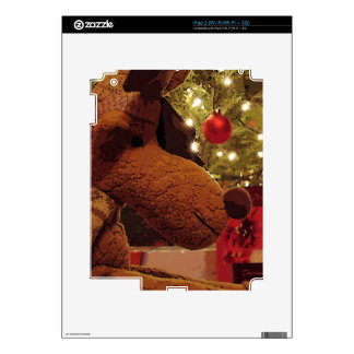 Christmas Moose Decal For The iPad 2
