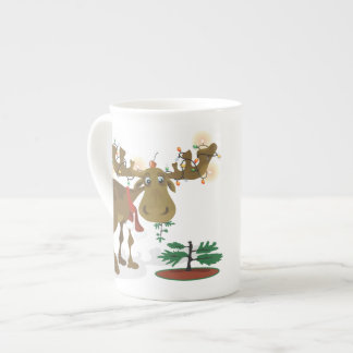 Christmas Moose~specialty mug