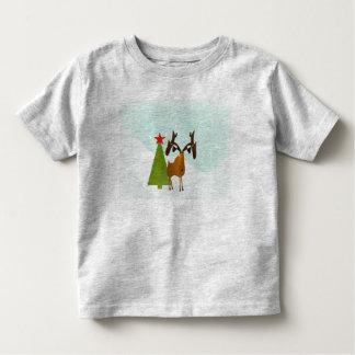 Christmas Moose Toddler T-shirt