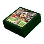 Christmas - Morkie - Cooper Jewelry Box