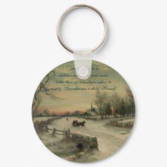 Christmas Morn - Keychain #1 keychain