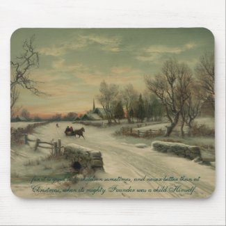 Christmas Morn - Mousepad #1 mousepad
