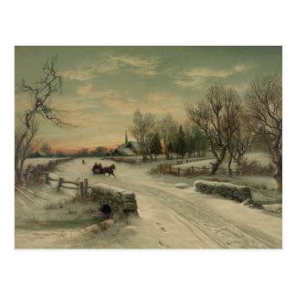 Christmas Morn - Postcard #1