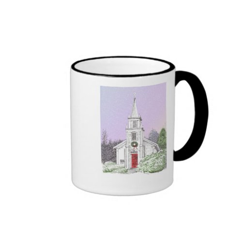 Christmas 'Morn Ringer Mug