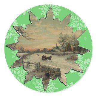 Christmas Morn - Sticker #2 sticker