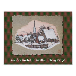 Christmas Morning Arrival Card