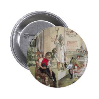 Christmas Morning Pinback Button