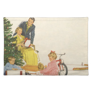 Christmas Morning Cloth Placemat