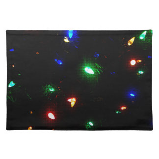Christmas Morning Lights Placemat