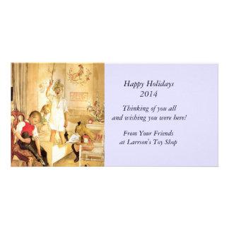 Christmas Morning Photo Card