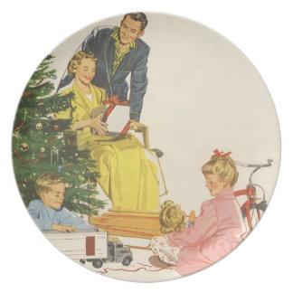 Christmas Morning Plates