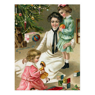 """Christmas Morning"" Postcard"