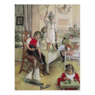 Christmas Morning Post Card