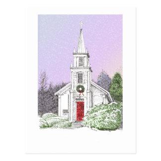 Christmas Morning Postcard