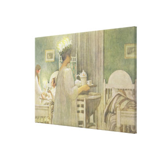 Christmas Morning, pub. in 'Lasst Licht Hinin'(`Le Canvas Print