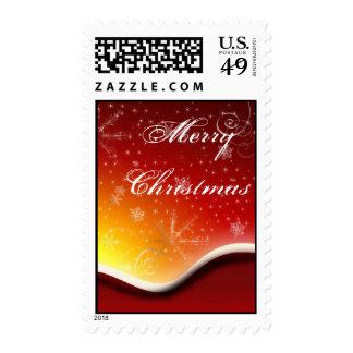 Christmas Morning Stamp
